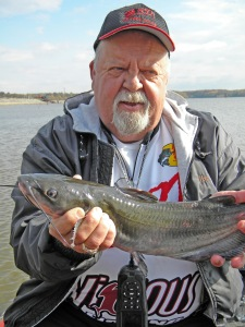 Jim Reedy with Rend Lake Channel Catfish