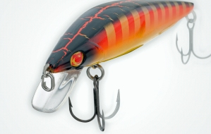 Shallow running crankbaits like the Sebile Bull Minnow are effective in fall.