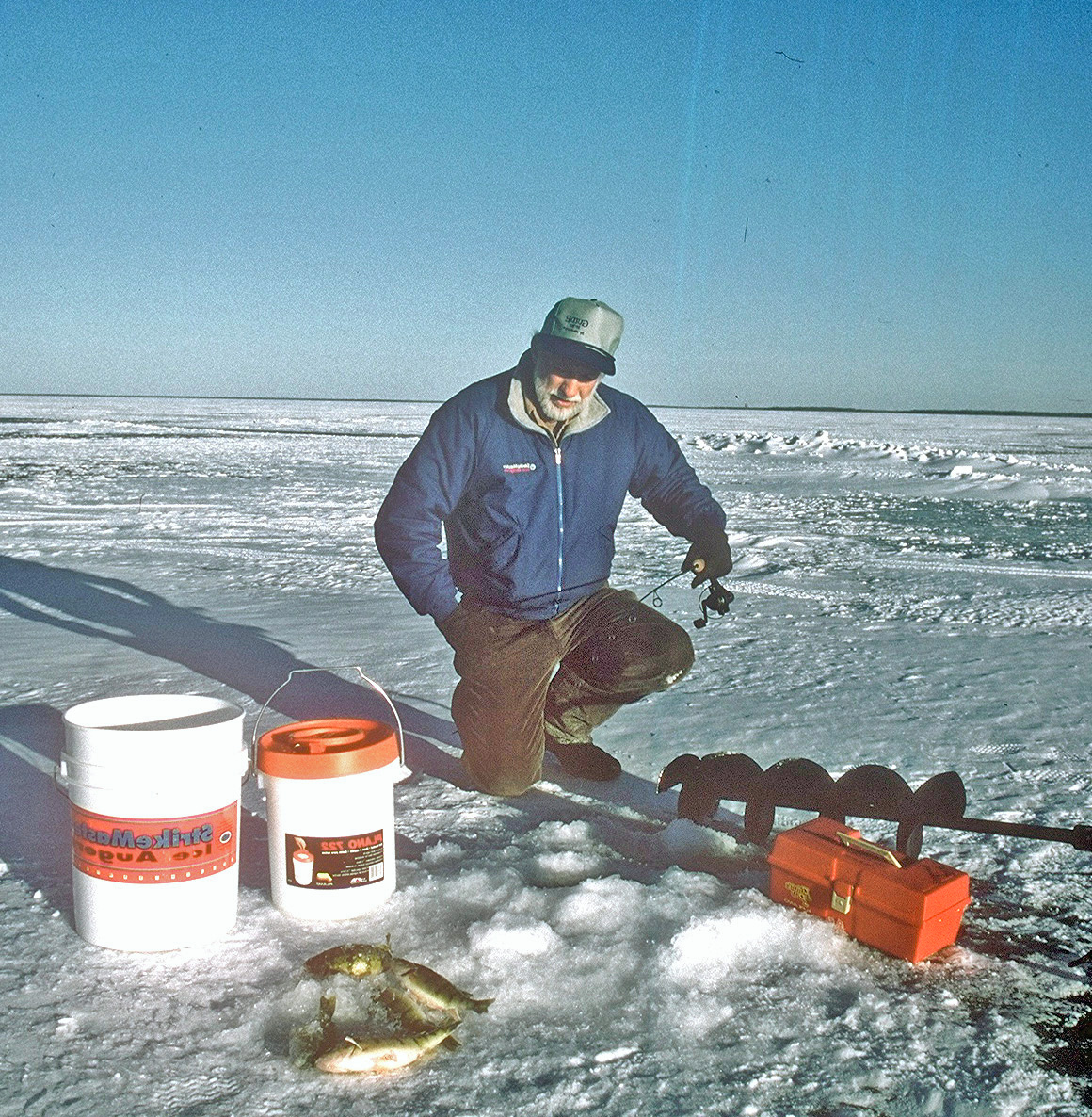 Ice fishing tips don gasaway 39 s blog for Ice fishing tips