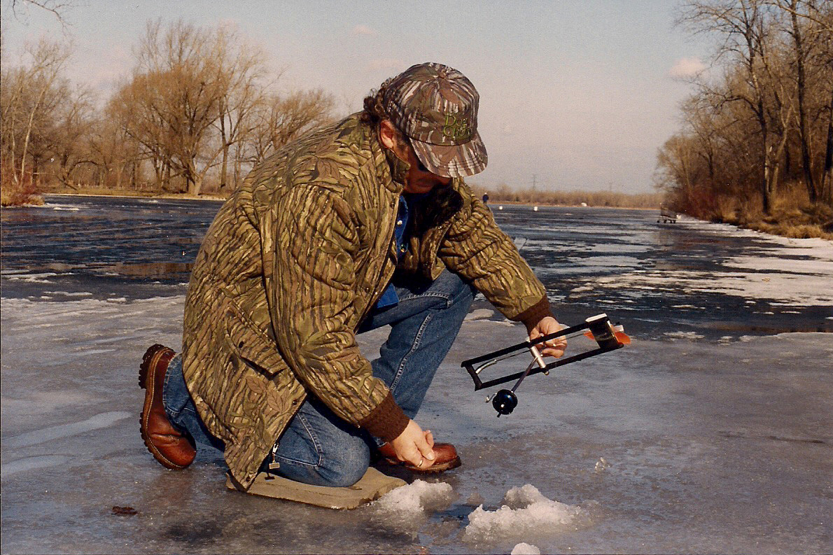 Don gasaway 39 s blog a hunting fishing journal for Ice fishing indiana
