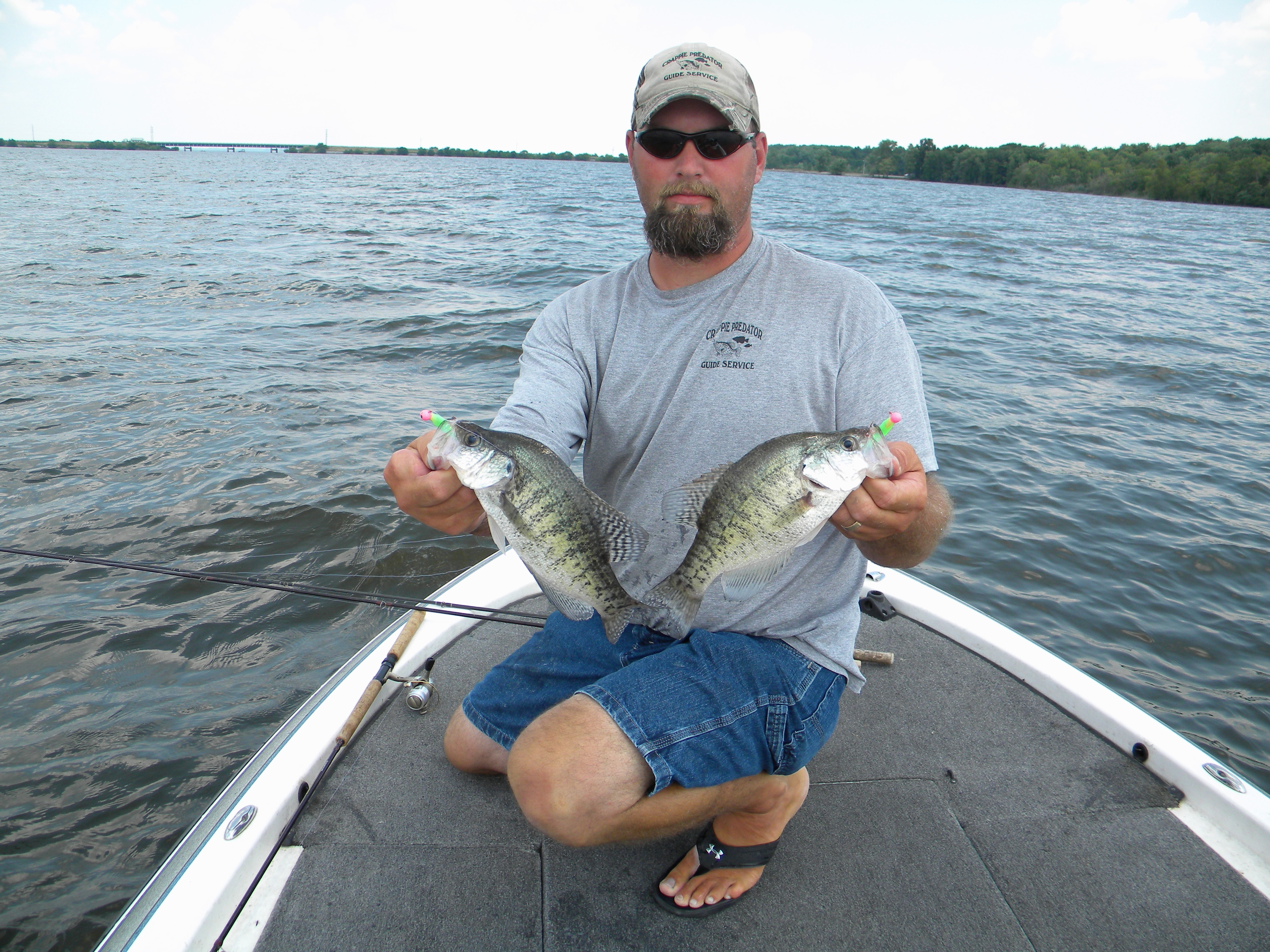 The challenge of rend lake crappie don gasaway 39 s blog for Rend lake fishing